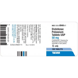 Diclofenac Potassium 50mg Rx Products